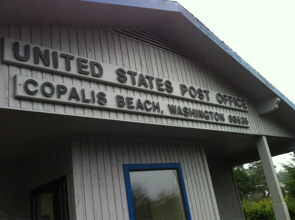 US Post Office: 731 Copalis Beach Rd, Copalis Beach, WA