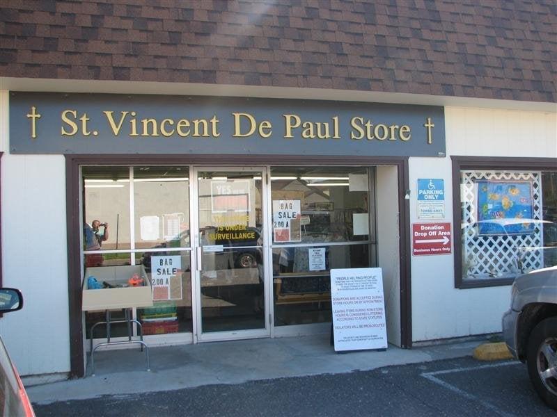 St Vincent De Paul Thrift Store: 211 W Maple, Iron River, MI