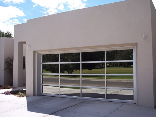 Avante Full View Garage Door Aluminum Frame With Window