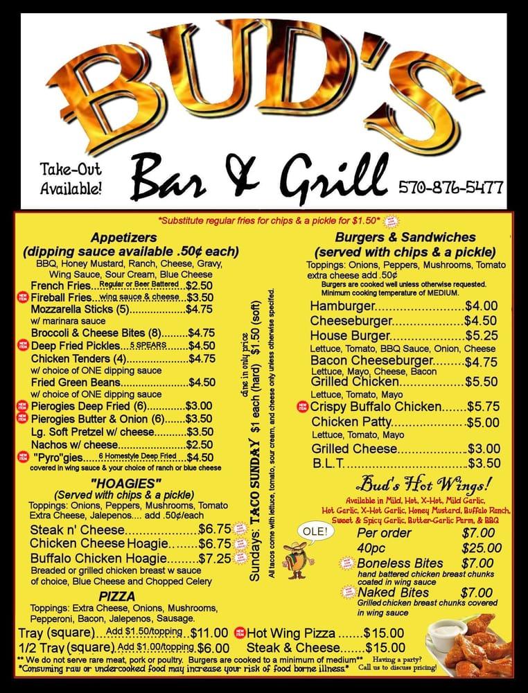 Bud's: 402 N Main St, Archbald, PA