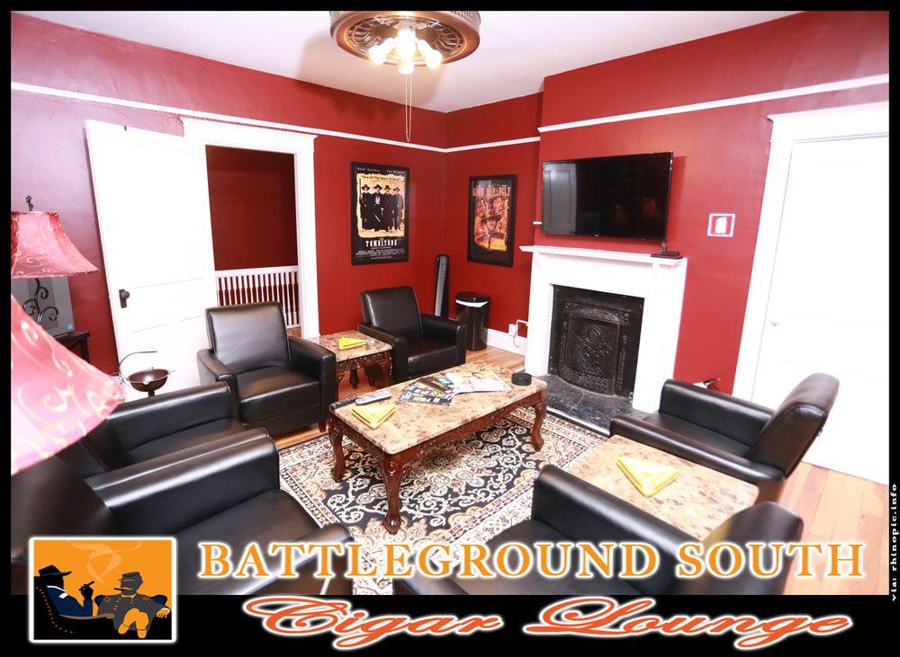 Battleground South Cigar Lounge: 1020 S Garden St, Columbia, TN