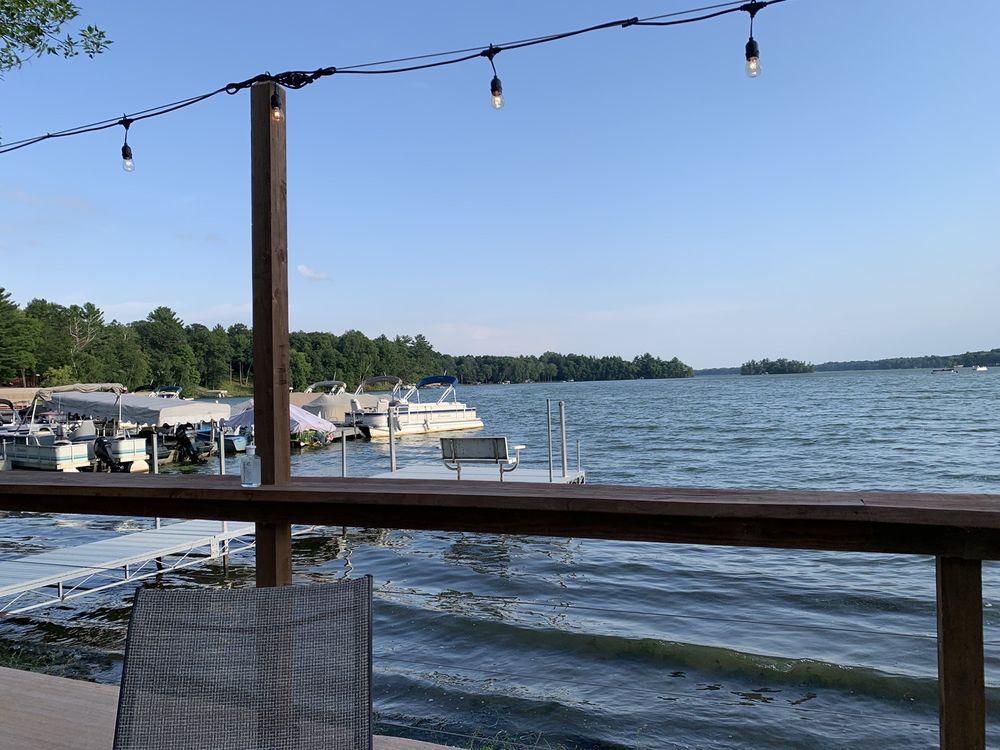 Wapogasset Waterside Bar & Grill: 1342 Lone Pine Ln, Amery, WI