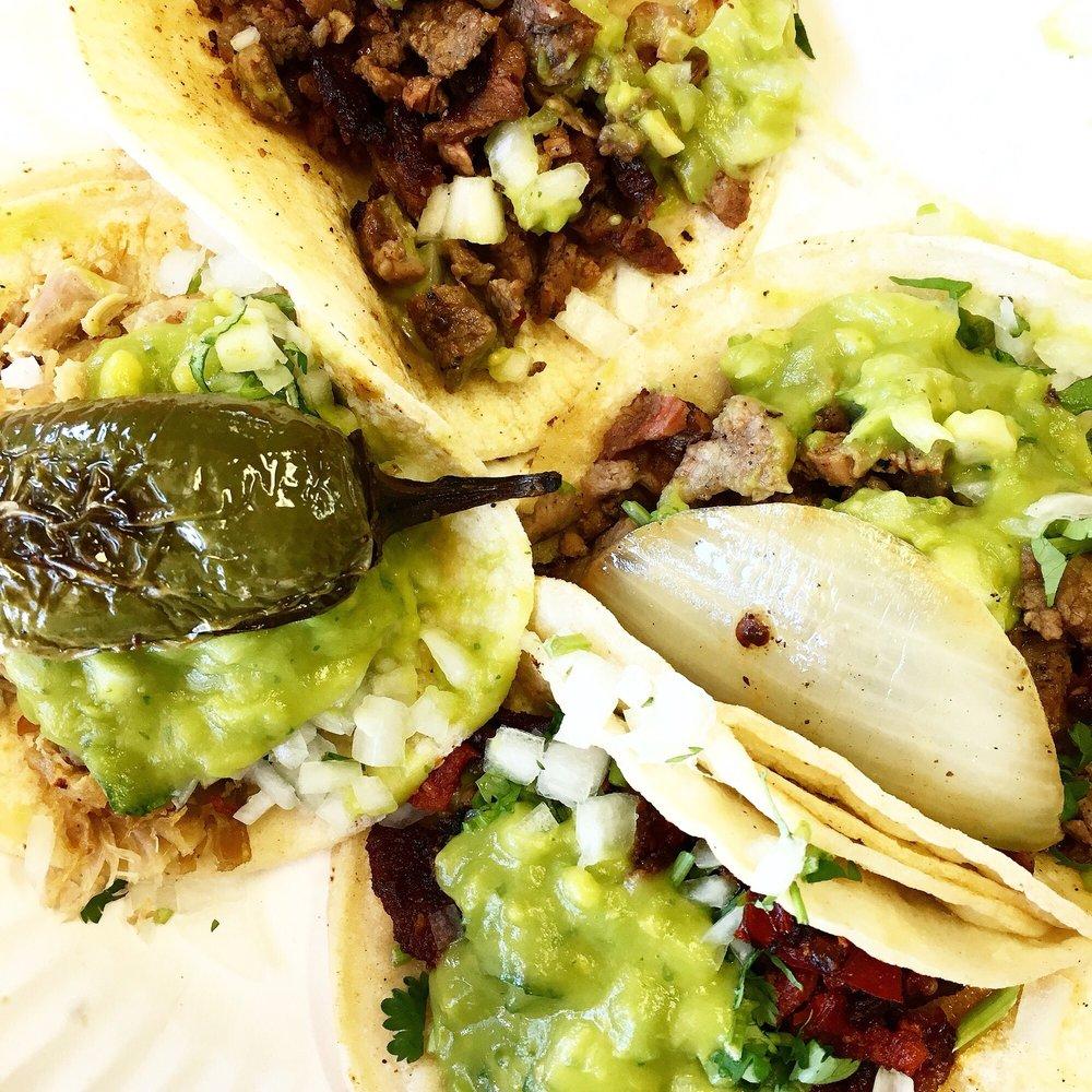 Food from Tijuana's Tacos