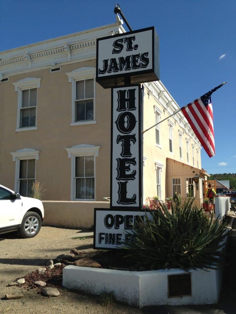 St James: 617 S Collison St, Cimarron, NM