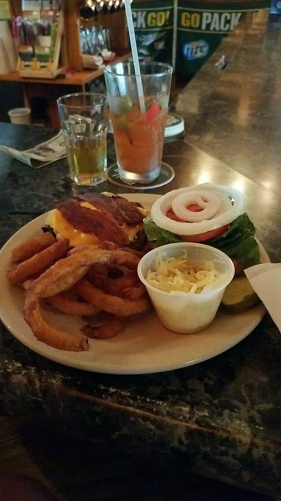 Backwoods Bar & Grill: W14549 Plummer Rd, Weyerhaeuser, WI