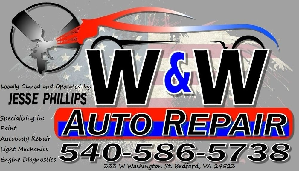 W & W Auto Repair: 333 W Washington St, Bedford, VA