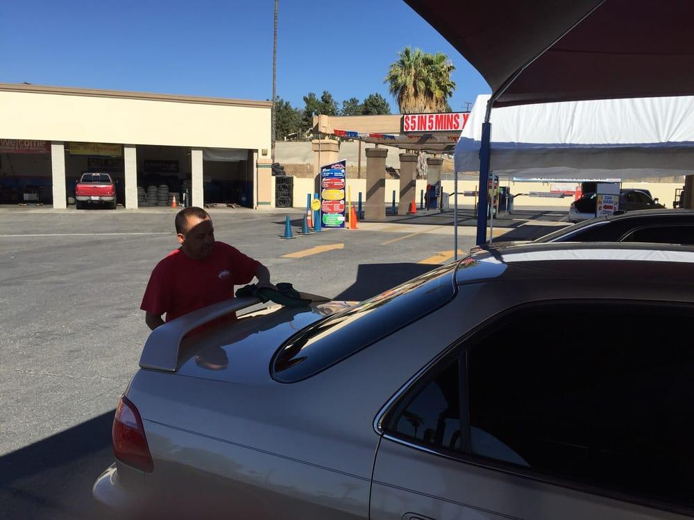 Sparkling Clean Car Wash In Colton Ca