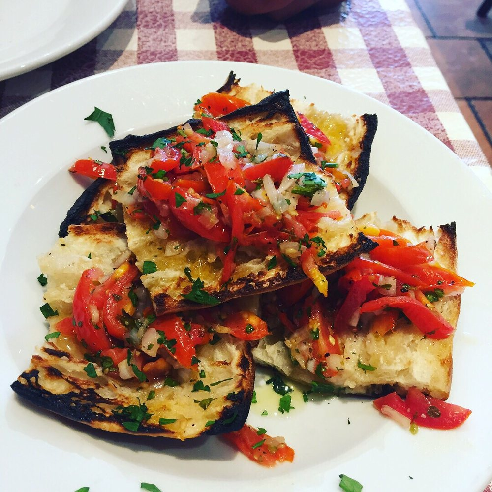 Peppino S Pizza: This Is The Bruschetta!!! And It's Absolutely Amazing