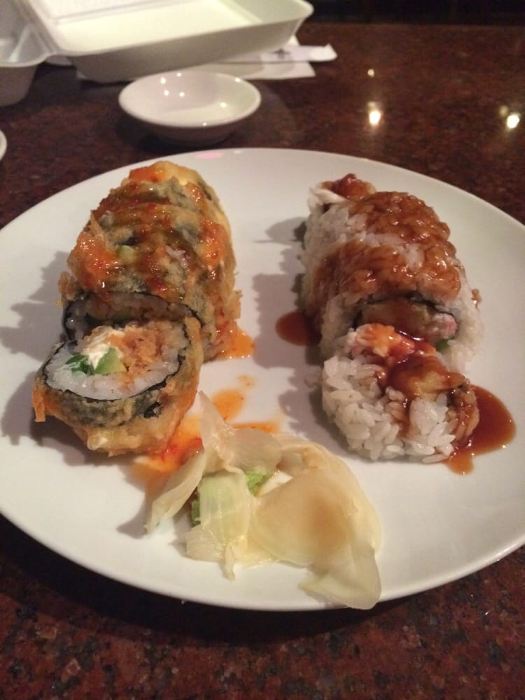 vegas roll and shrimp tempera roll both for lunch special yelp. Black Bedroom Furniture Sets. Home Design Ideas