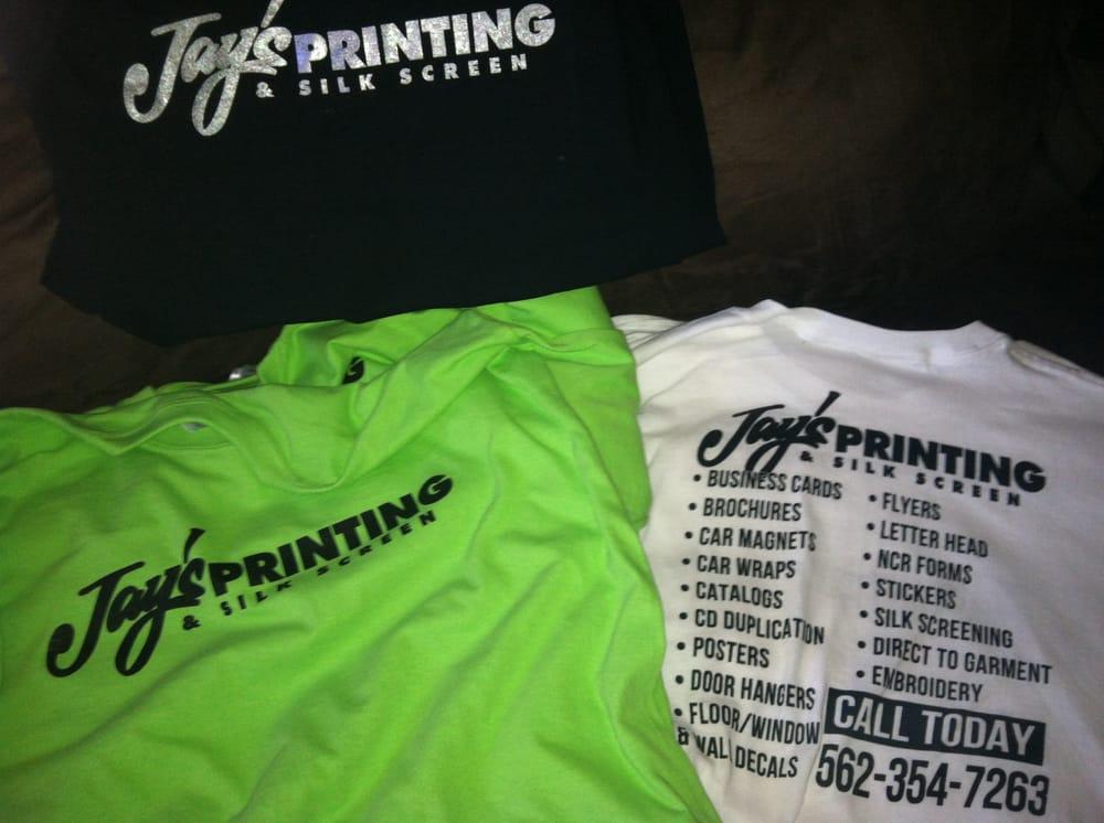 Jays printing silk screening officially shirt yelp for Silk screen shirts near me