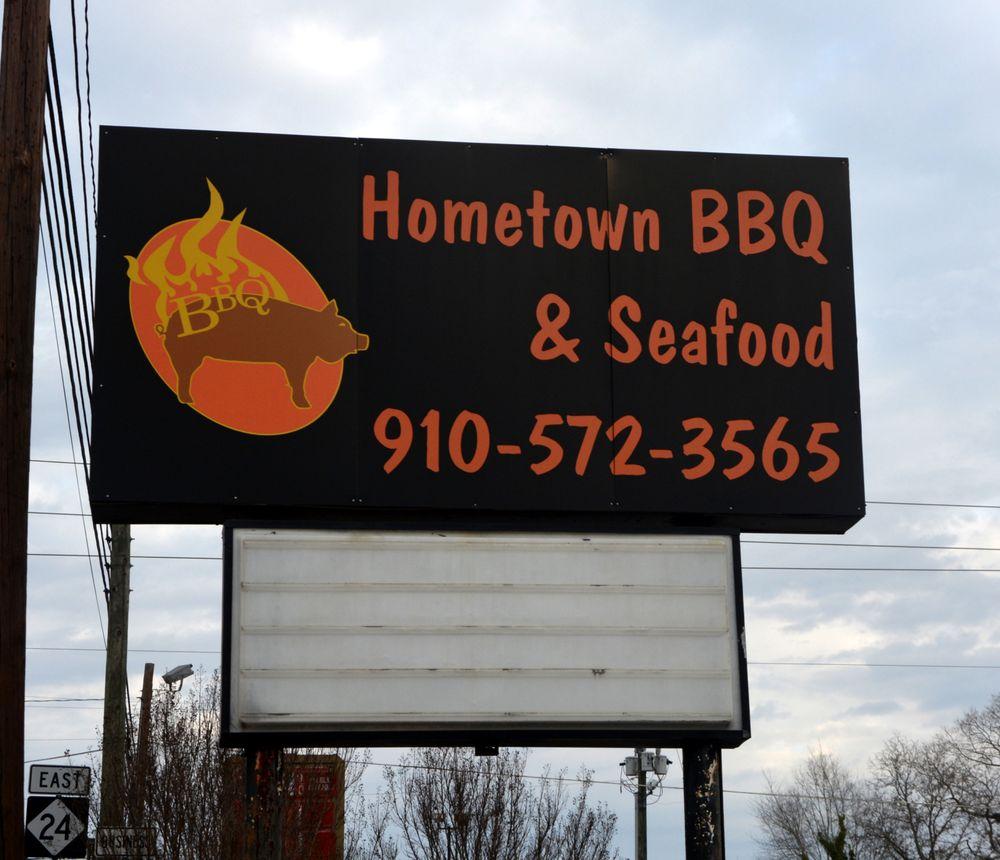 Hometown Bar-B-Que: 501 Albemarle Rd, Troy, NC