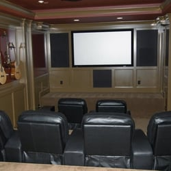 Small Kitchen Photo Of Cedar Mill Home Theater Portland Or United States