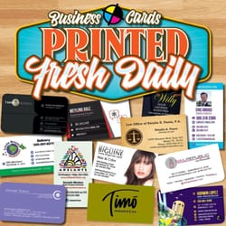 North beach printing graphics 14 photos printing services photo of north beach printing graphics miami beach fl united states full color business cards reheart Choice Image