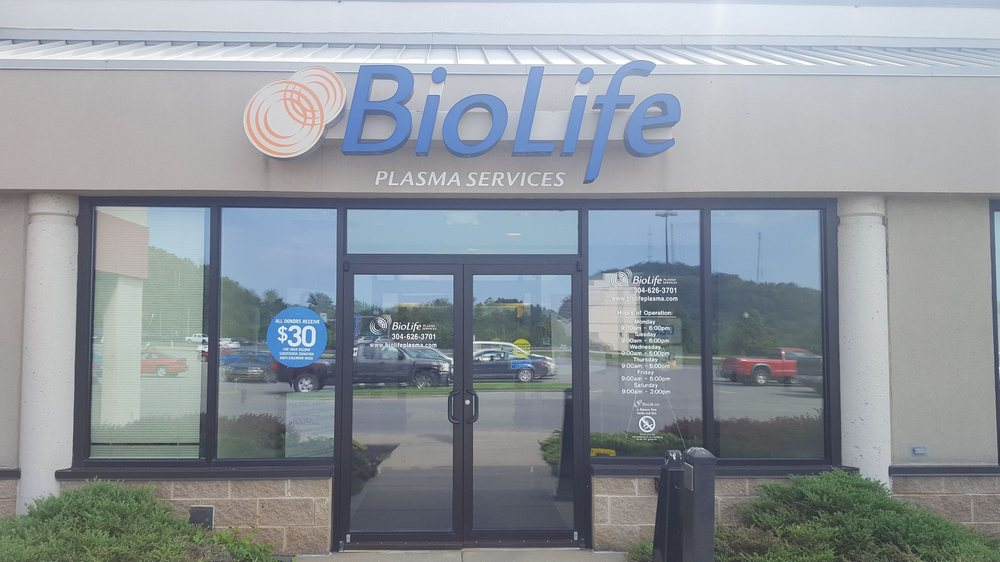 BioLife Plasma Services: 110 Emily Dr, Clarksburg, WV