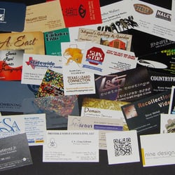 Photo Of One Hour Business Cards Austin Tx United States Card Samples