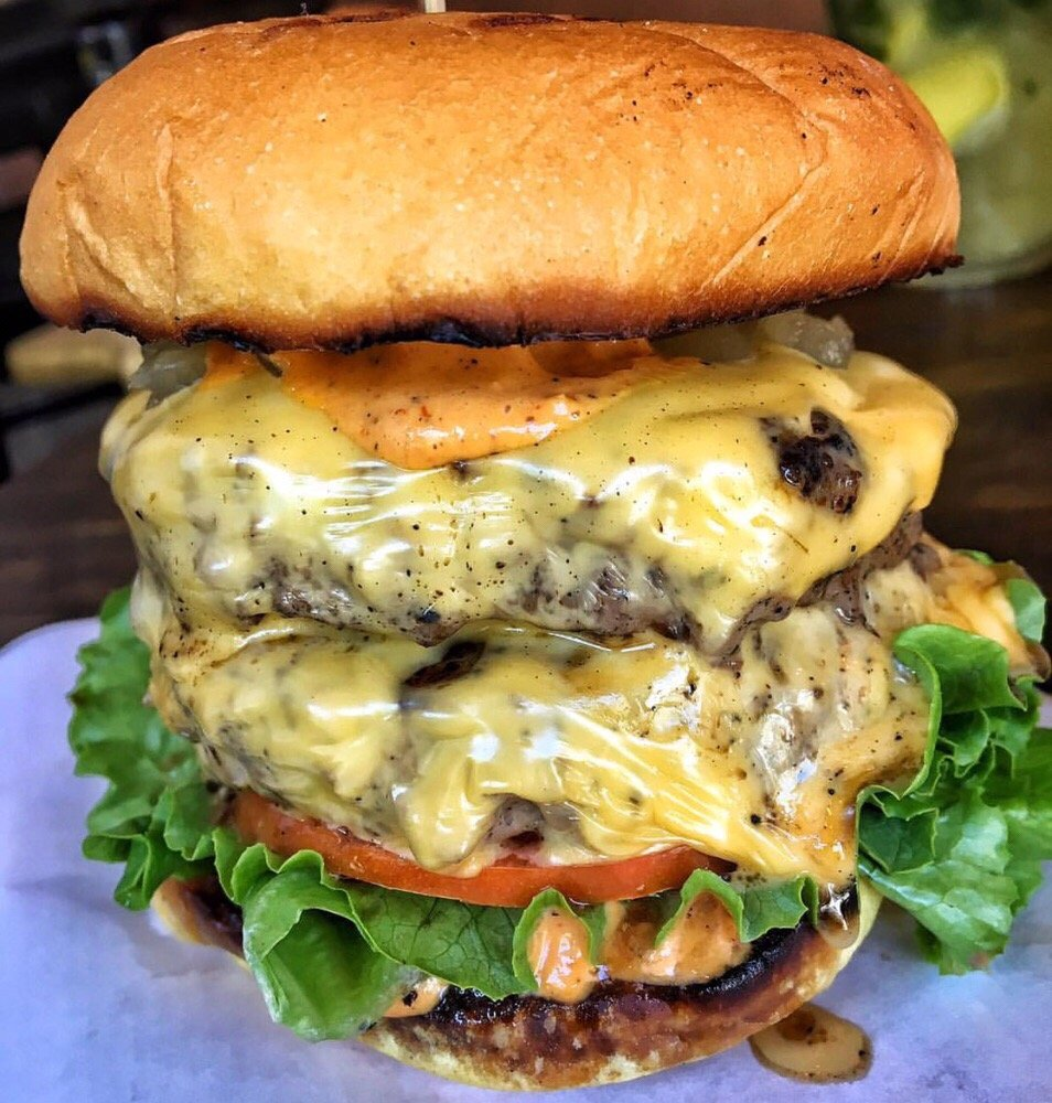 photo of les kitchen new york ny united states double les burger - Les Kitchen