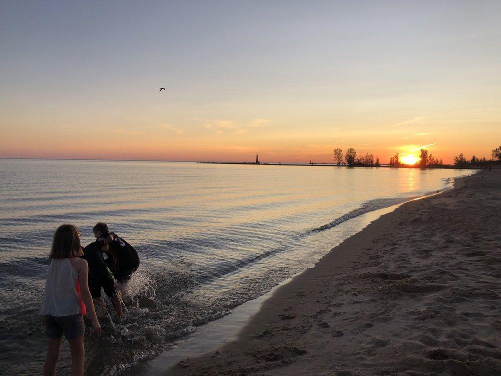 Pere Marquette Park: Beach Street Rd, Muskegon, MI