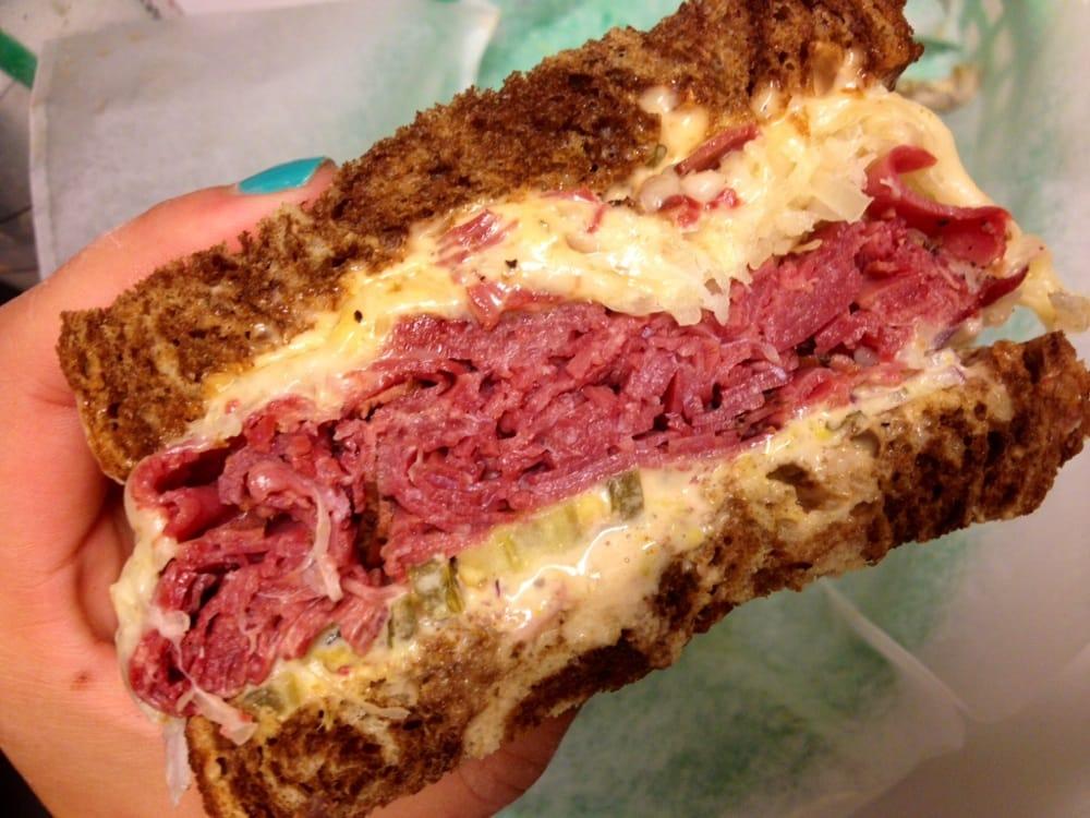Reuben Sandwich On Marble Rye Yelp