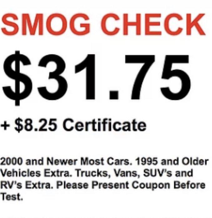 Star Smog Central: 2107 Palm Ave, San Mateo, CA