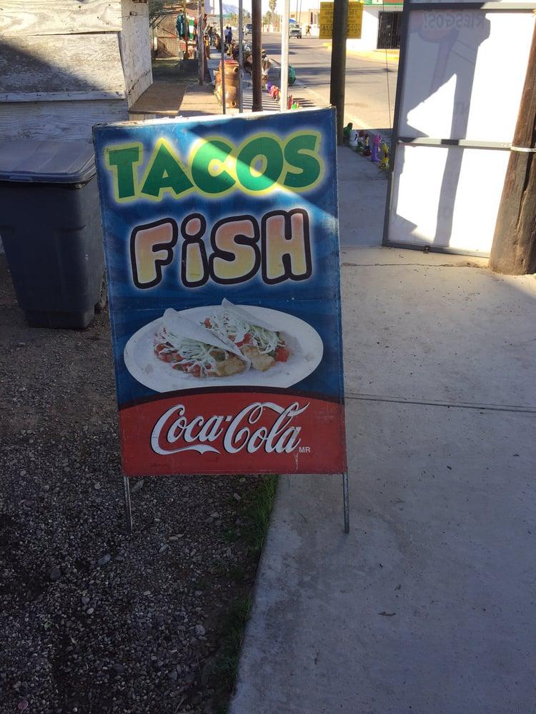 Tacos Fish: Carretera Ramal a Puerto de Mexico S/N, Sonoita, SON