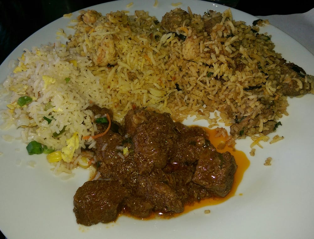 Egg fried rice shrimp biriyani chicken biriyani mutton for 8elements perfect indian cuisine