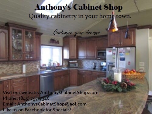 anthony s cabinet shop 171 willow tree rd cabinetry milton ny yelp. Black Bedroom Furniture Sets. Home Design Ideas