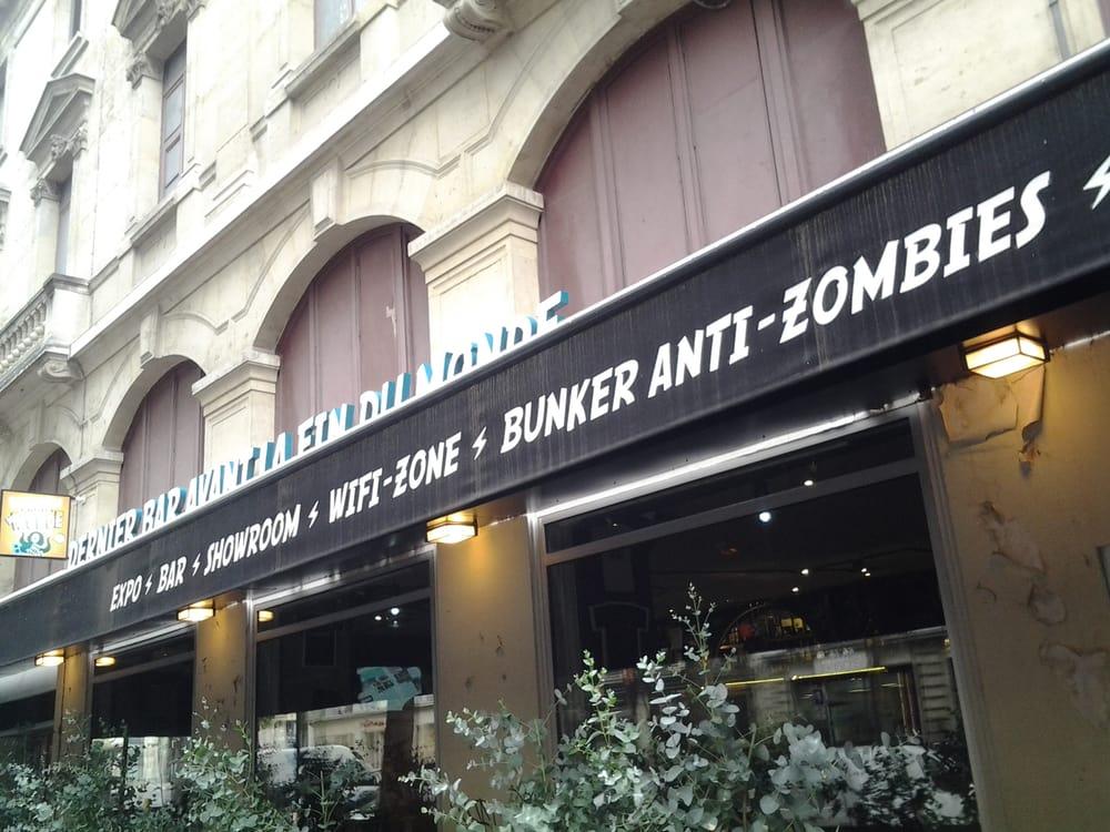 Anti zombie bunker convenient yelp for Bar la piscine paris 18