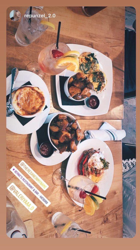 Social Spots from Bernie's Restaurant & Bar - Hatboro