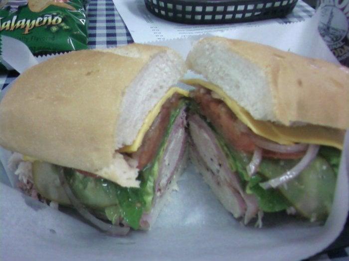 Manhattan Project Sandwich