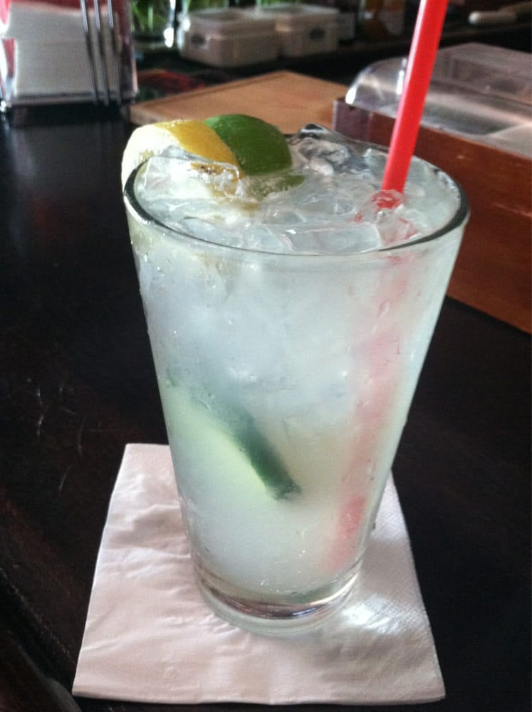 ... , CA, United States. Fresh prince -- vodka, cucumber and ginger beer