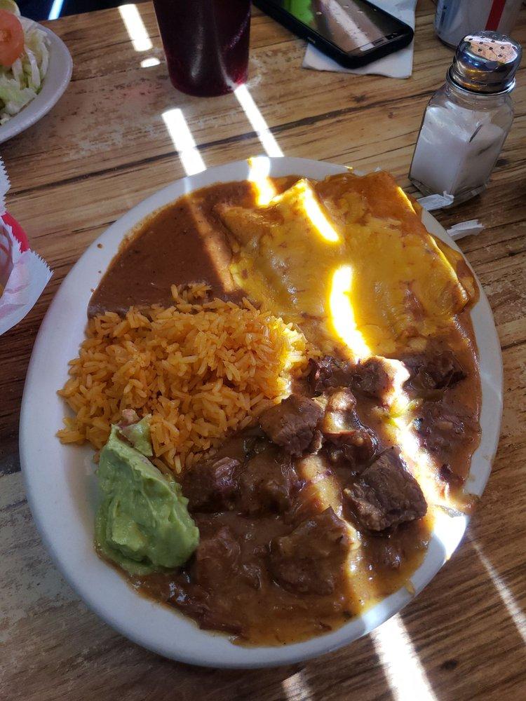 Food from The Ranchito Taqueria