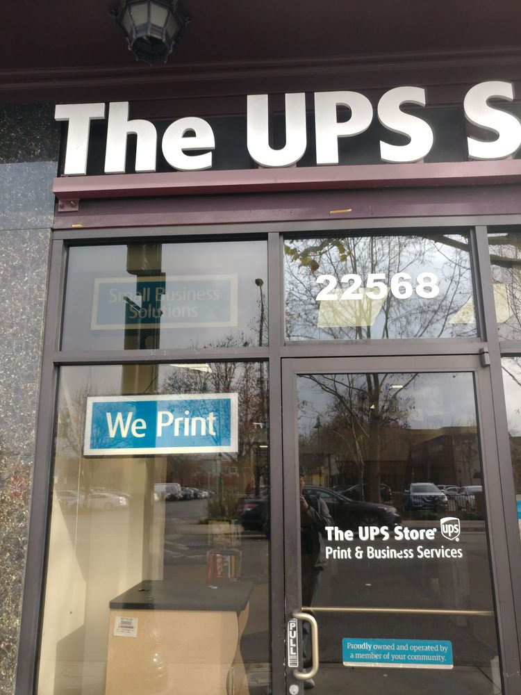 The UPS Store: 22568 Mission Blvd, Hayward, CA