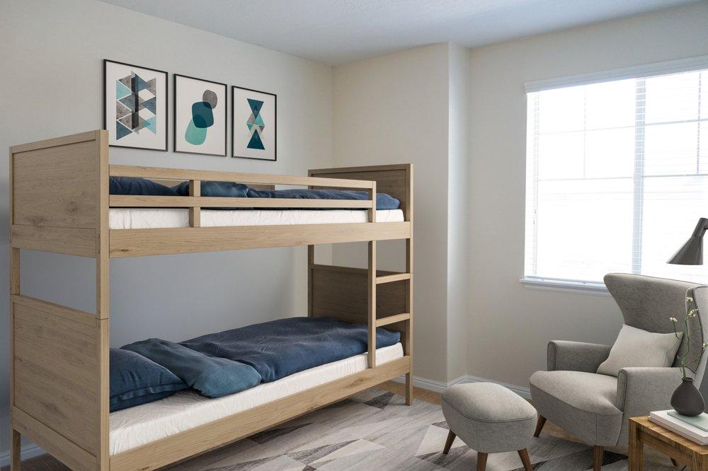 Four Seasons Apartments & Townhomes: 140 E 2200th N, North Logan, UT