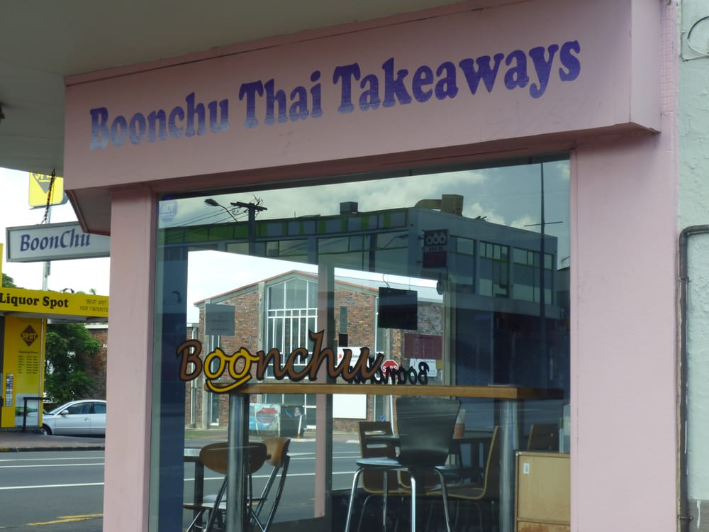 Boonchu thai takeaways thai 613 dominion rd mt eden for Auckland thai boutique cuisine
