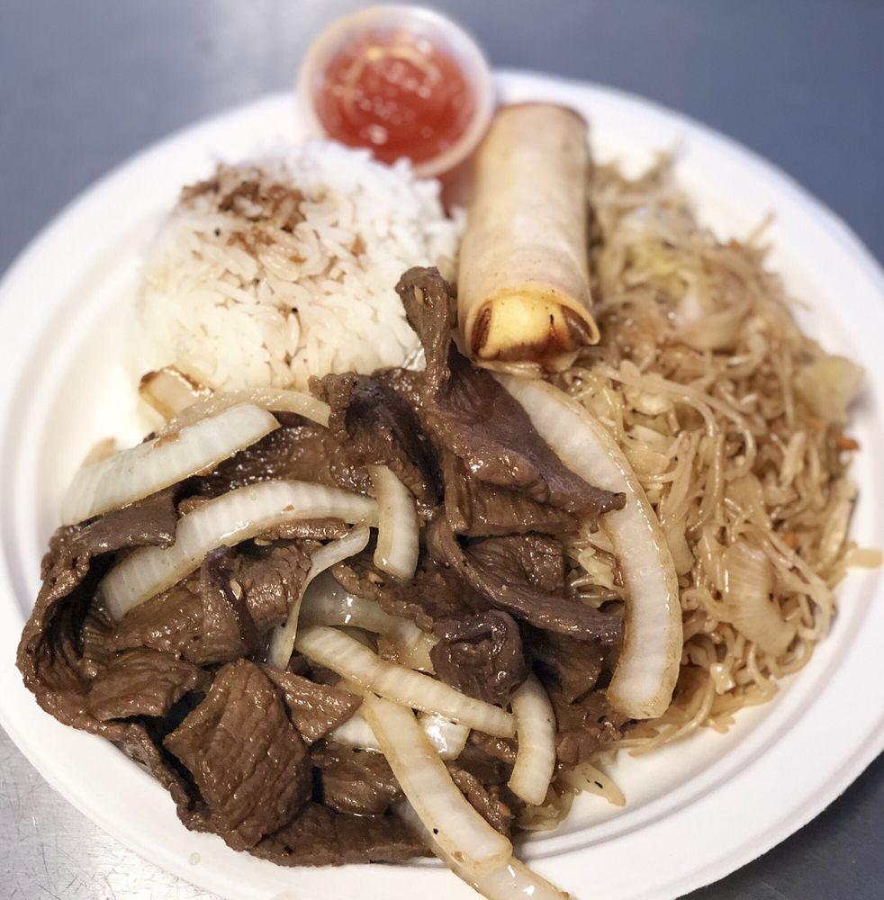 Food from The Manila Fiesta