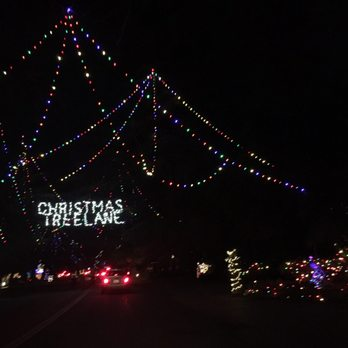 photo of christmas tree lane fresno ca united states beautiful