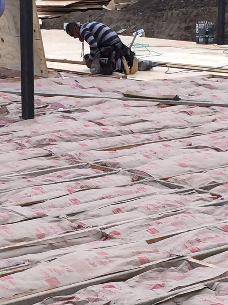 New Construction Underfloor R 30 Owens Corning Fiberglass