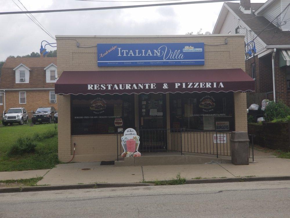 Ambridge Italian Villa: 1710 Duss Ave, Ambridge, PA