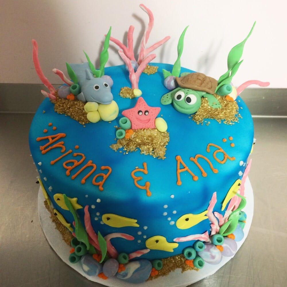Under The Sea Themed Birthday Cake Yelp