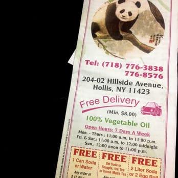 Panda House Chinese 20402 Hillside Ave Hollis Hollis