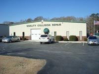Quality Collision Repair: 4758 Reedy Branch Rd, Winterville, NC
