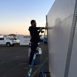 Photo Of Door Pros   Surprise, AZ, United States. Setting Up For The