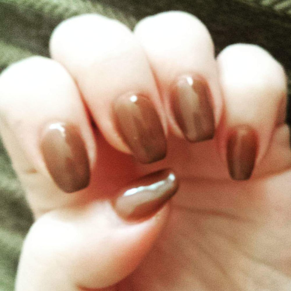 Coffin nails. Shellac, natural nails - Yelp