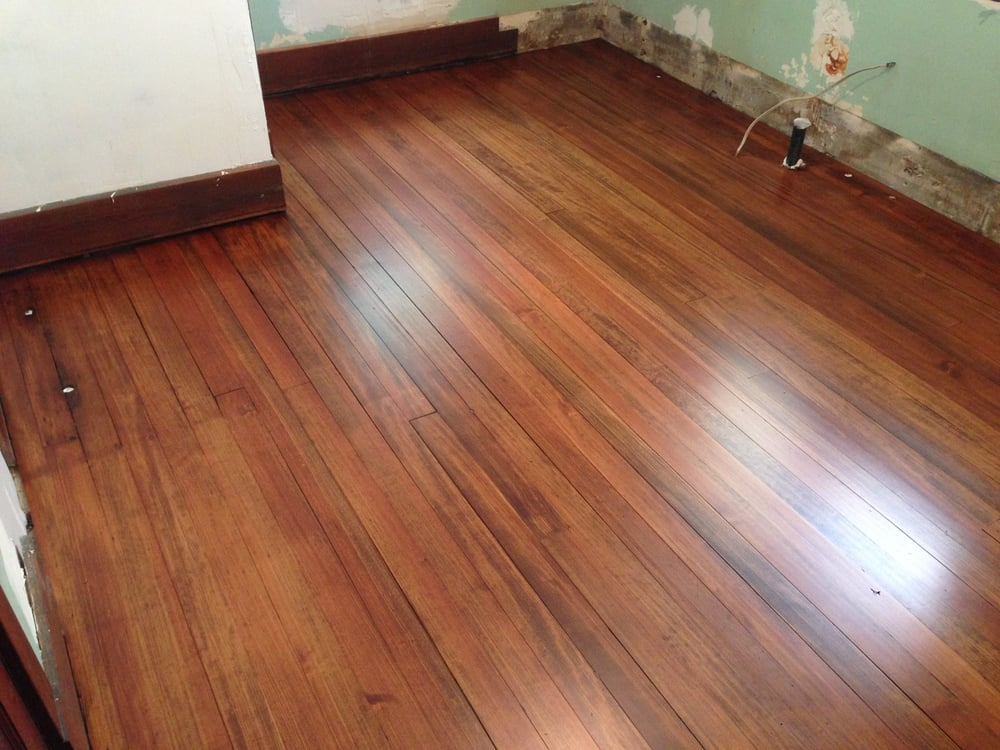 Douglas Fir Floor Stained English Chestnut Yelp