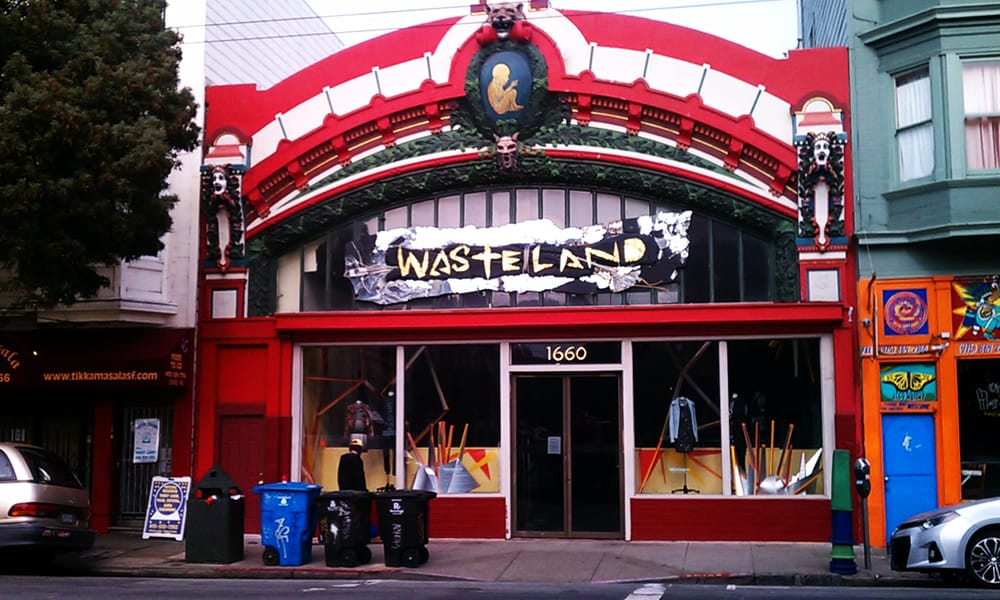 Wasteland: 1660 Haight St, San Francisco, CA