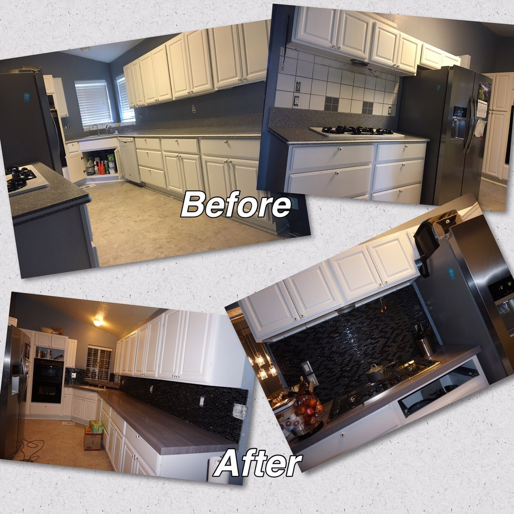 Kitchen Transformation Before And After: Here's My Ugly Kitchen Before, And My Super Beautiful
