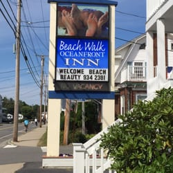 Photo Of Beach Walk Wind Song Motels Old Orchard Me United