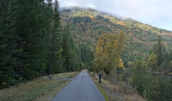 The Trail Of The Coeur d'Alenes: Harrison, ID
