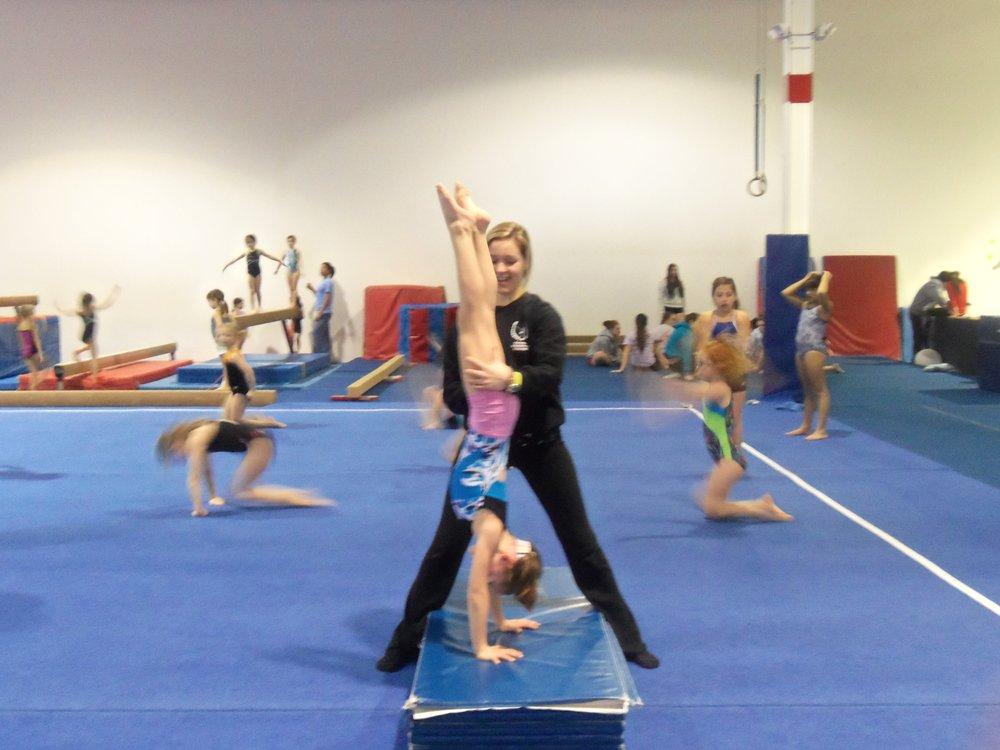 Social Spots from First Flips Gymnastics