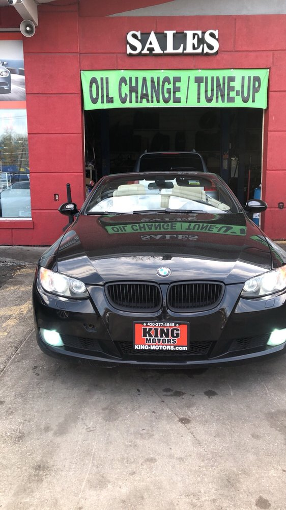 King motors car dealers 5905 liberty rd baltimore md for King motors auto sales